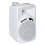 DAP-Audio PM-82 Moulded Install 16 ohm Speakers - 2 pcs, White